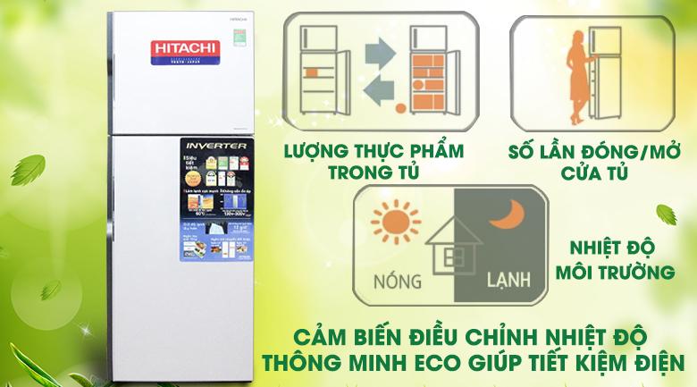 Tủ lạnh Hitachi Inverter 260 lít R-H310PGV4 -Cảm biến nhiệt Eco