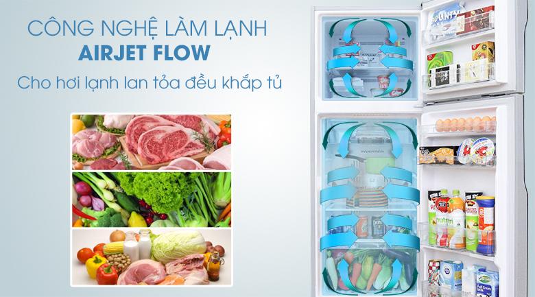 Tủ lạnh Hitachi Inverter 260 lít R-H310PGV4 - Làm lạnh Air Jet Flow