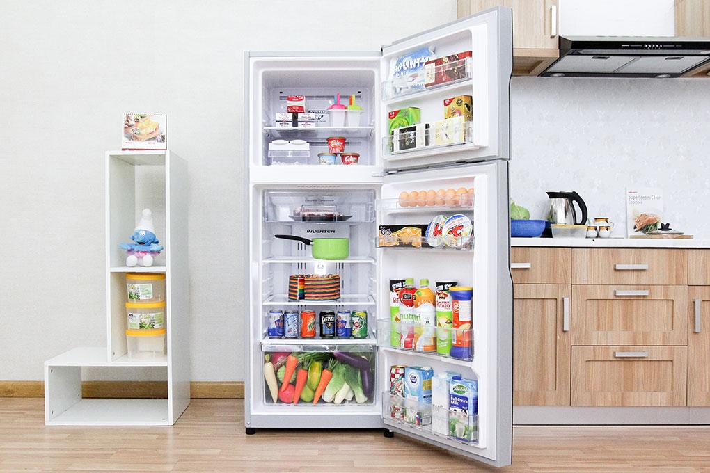 Với tủ lạnh Hitachi R-H310PGV4 sẽ cho bạn có những buổi ăn ngon miệng hơn với gia đình mình