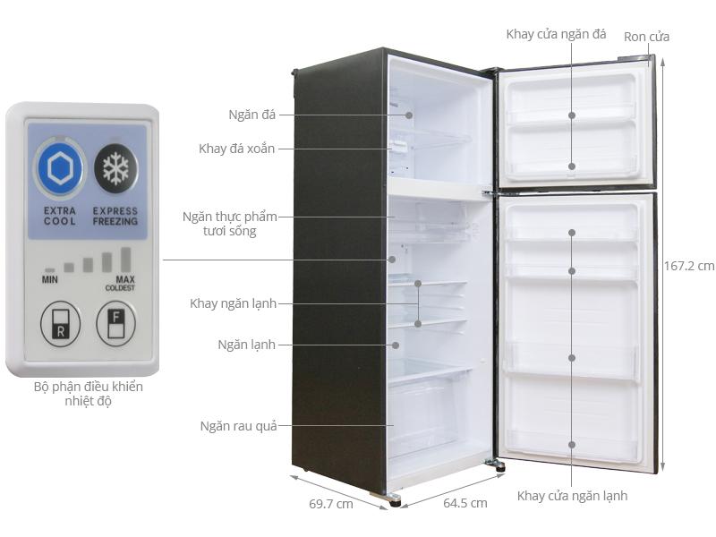 Thông số kỹ thuật Tủ lạnh Sharp 397 lít SJ-XP400PG