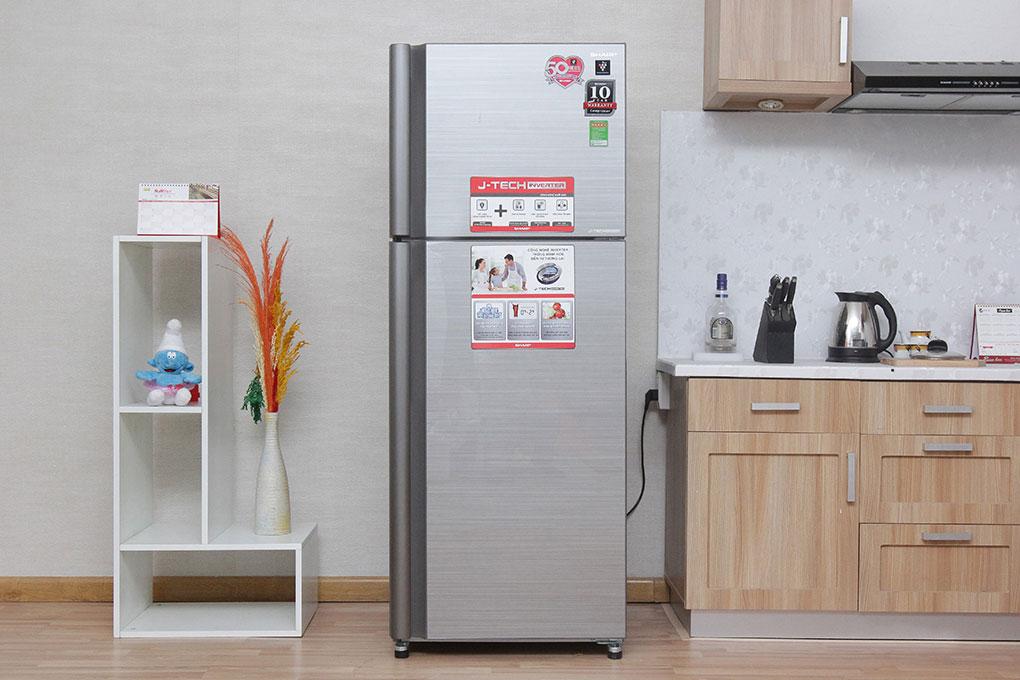 Tủ lạnh có thiết kế mặt gương cao cấp
