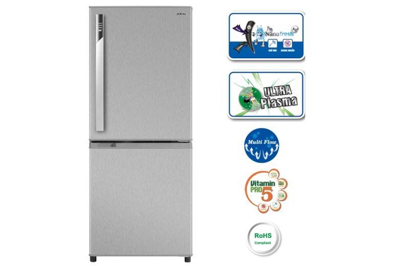 Tủ lạnh ngăn đá dưới thiết kế sang trọng