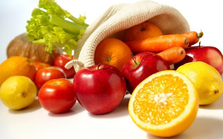 Rau quả tươi ngon, sạch khuẩn