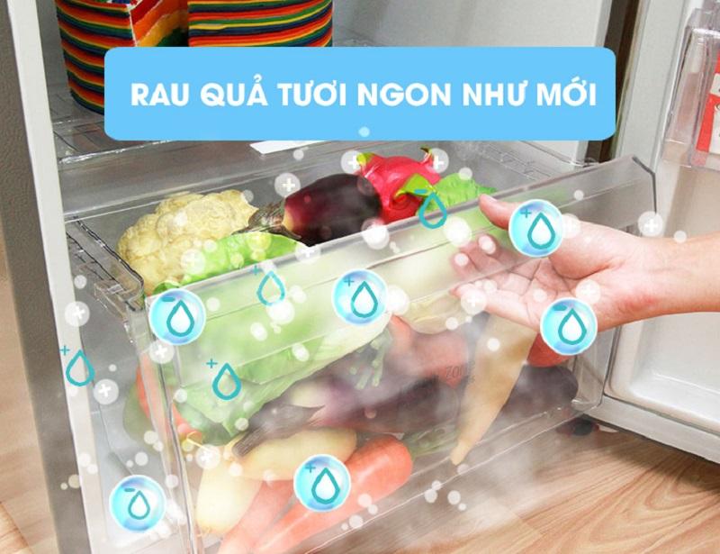 Tủ lạnh LG GN-L205PS có ngăn rau quả với kích thước lớn