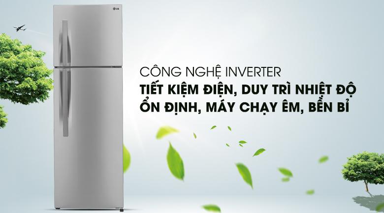 Công nghệ Inverter tiết kiệm điện năng - Tủ lạnh LG Inverter 315 lít GR-L333BS