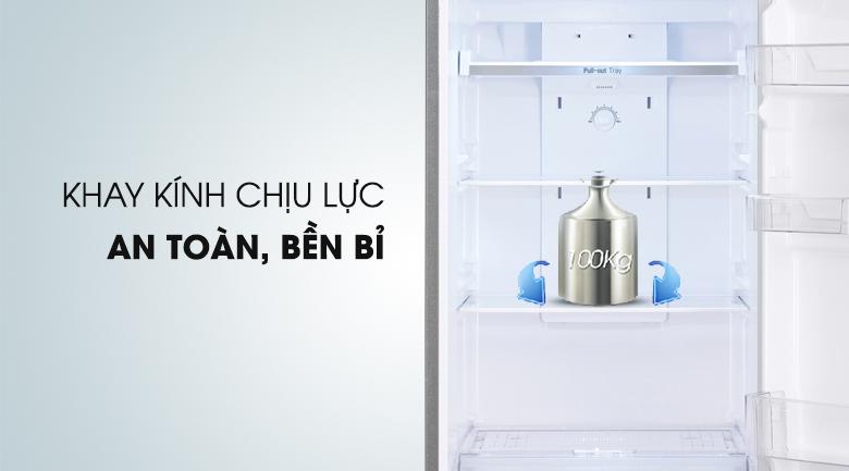 Khay chứa thiết kế vững chắc - Tủ lạnh LG Inverter 315 lít GR-L333BS