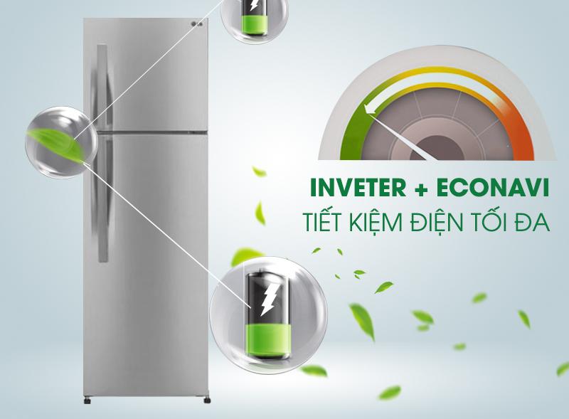 Tủ lạnh Inverter tiết kiệm điện, hoạt động bền bỉ, êm ái