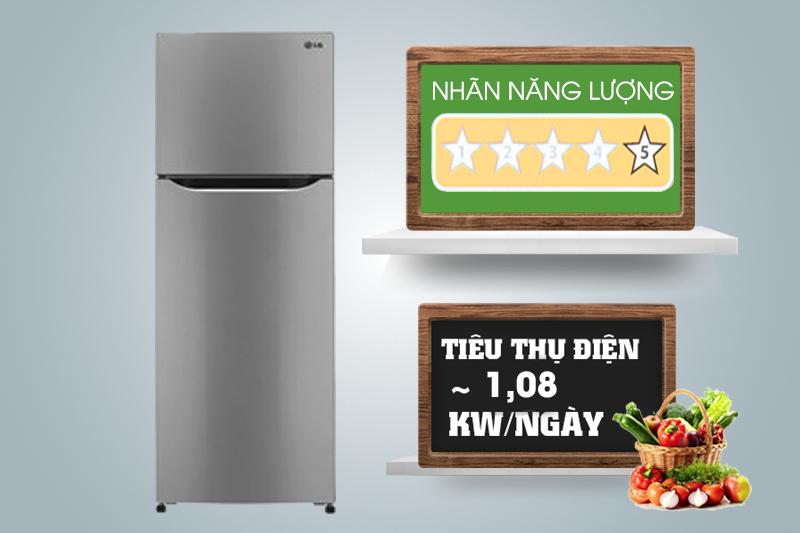 Mỗi ngày tủ lạnh này tốn khoảng 1.08 kW điện