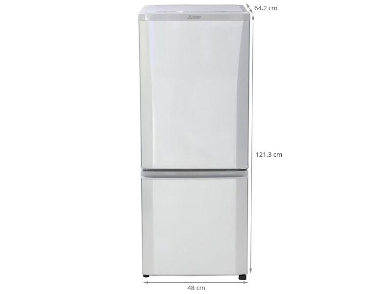 Thông số kỹ thuật Tủ lạnh Mitsubishi Electric MR-P18G-SL-V 169 lít
