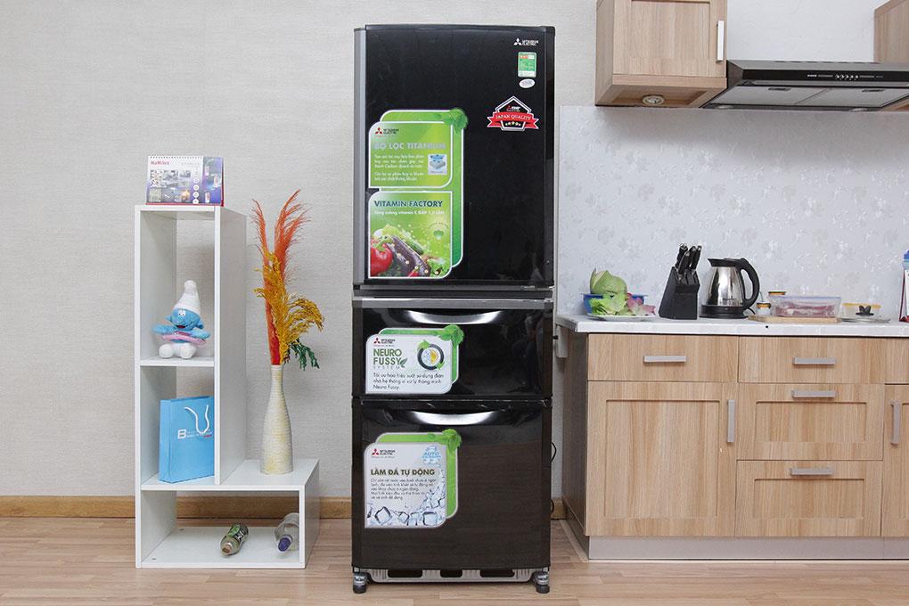 Tủ lạnh ngăn đá dưới với thiết kế sang trọng, tinh tế