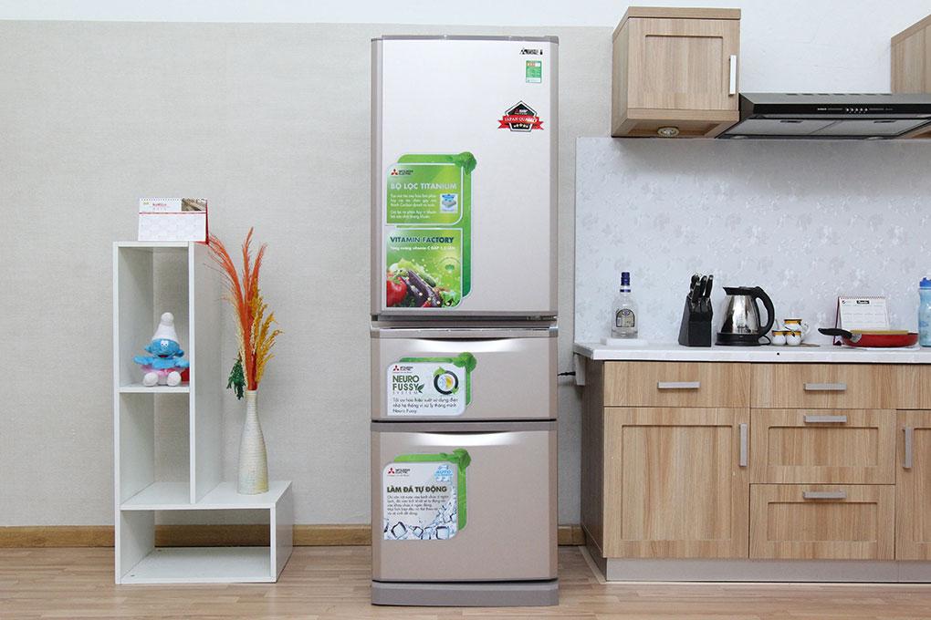 Tủ lạnh Mitsubishi Electric MR-C46G-PS 370 lít hình 2