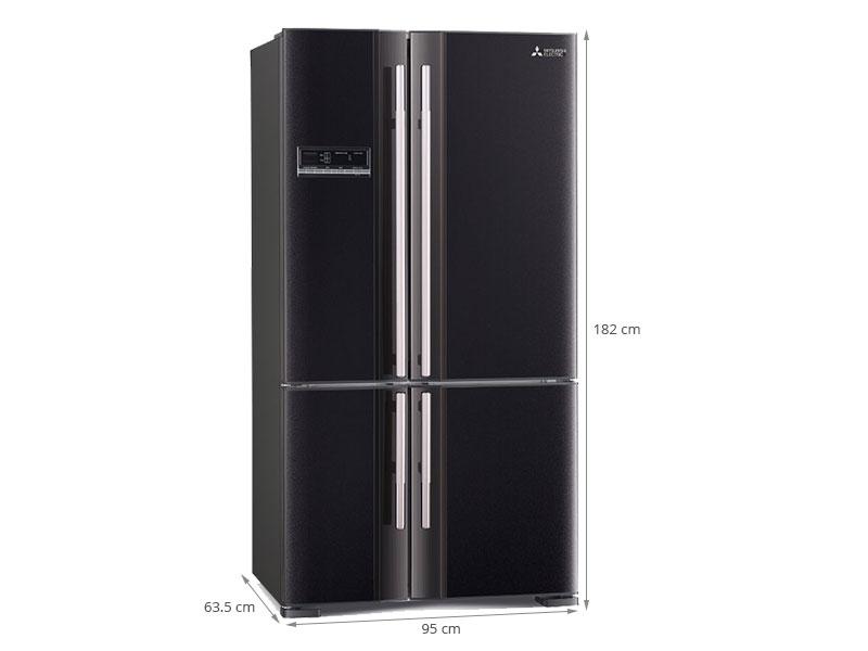 Thông số kỹ thuật Tủ lạnh Mitsubishi Electric 635 lít MR-L78EH-BRW