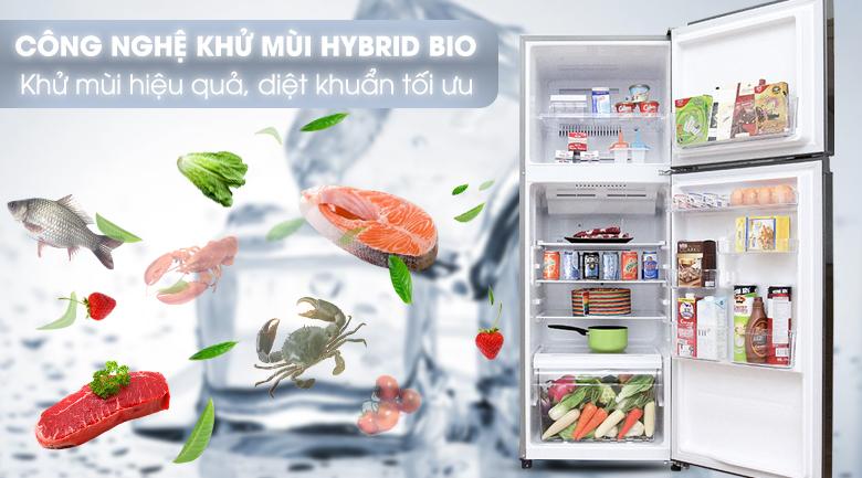 Công nghệ khử Hybird Bio - Tủ lạnh Toshiba Inverter 305 lít GR-T36VUBZ