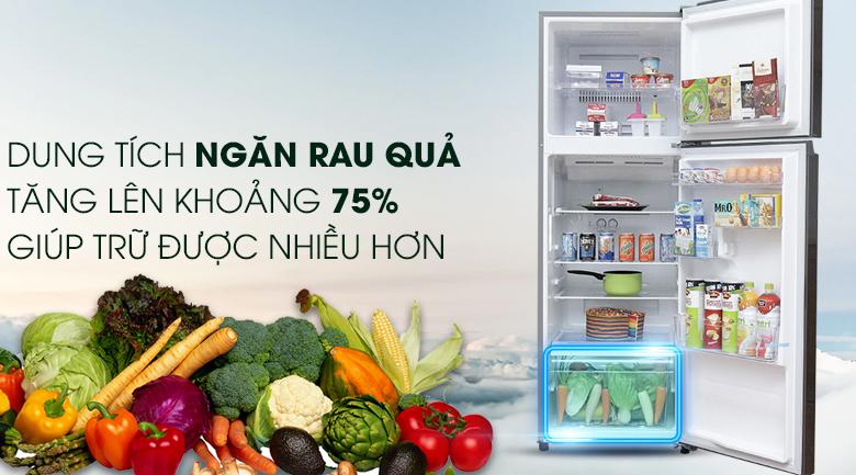 Tủ lạnh Toshiba GR-T39VUBZ(DS) - Ngăn rau củ