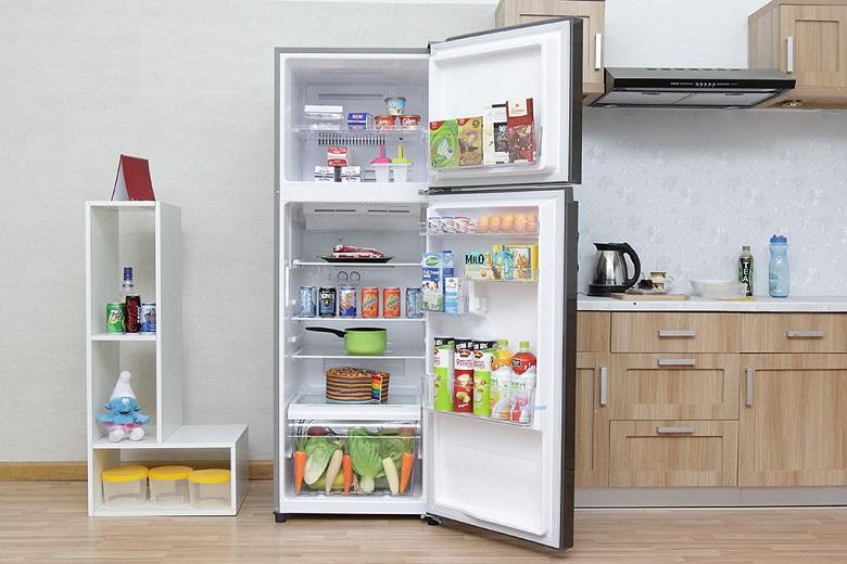 Tủ lạnh luôn có luồng khí lạnh đồng đều phân tán khắp tủ