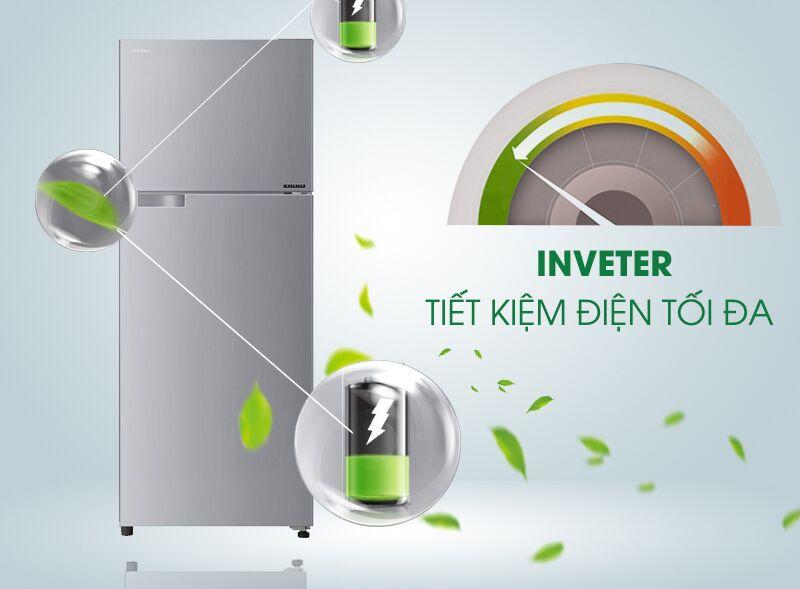 Công nghệ Inverter của tủ lạnh Toshiba GR-T39VUBZ(FS) đem lại cho nó một khả năng giảm hao phí điện năng tối ưu