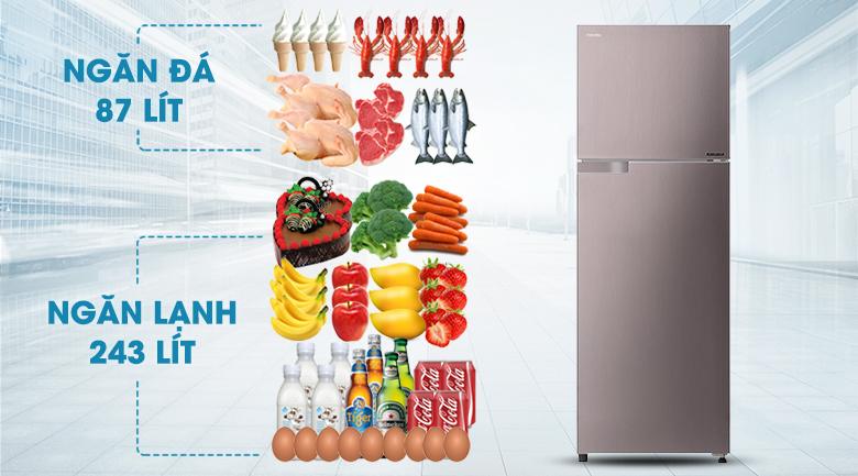 Tủ lạnh Toshiba GR-T39VUBZ(N)