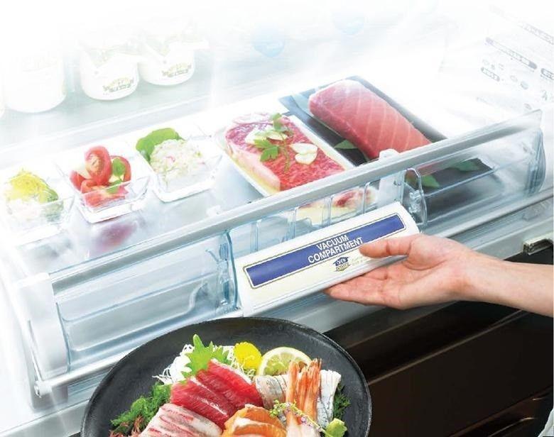Ngăn lạnh chân không giúp giữ lại chất dinh dưỡng vốn có của thực phẩm