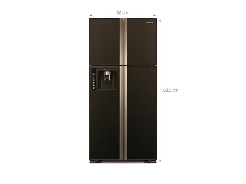 Thông số kỹ thuật Tủ lạnh Hitachi R-W660FPGV3X GBW 540 lít