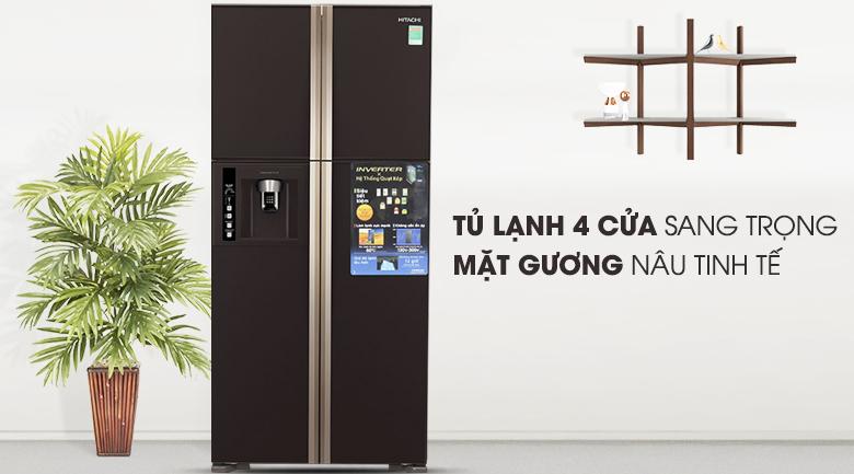 Tủ lạnh Hitachi Inverter 540 lít R-W660FPGV3X GBW