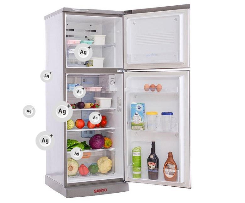 Chức năng diệt khuẩn khử mùi mang lại một không khí trong sạch cho tủ lạnh