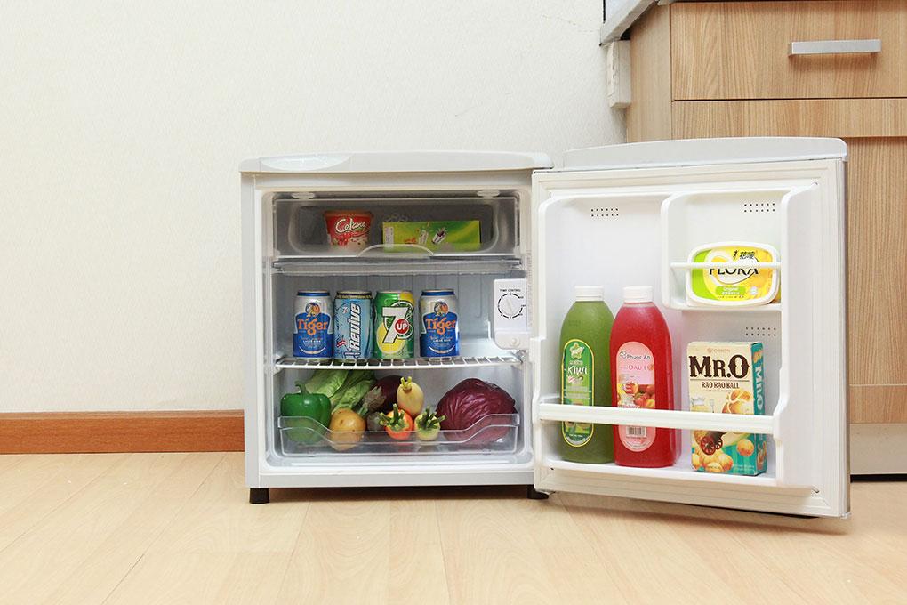 Tủ lạnh Aqua AQR-55AR 50 lít, tủ lạnh mini - Điện máy XANH