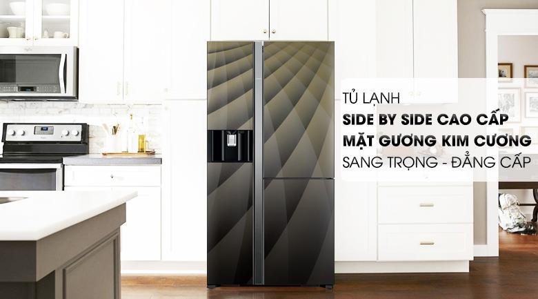 Tủ lạnh Hitachi Inverter 584 lít R-M700AGPGV4X DIA