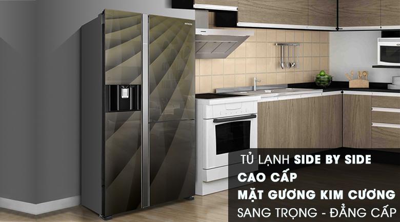Thiết kế - Tủ lạnh Hitachi Inverter 584 lít R-M700AGPGV4X