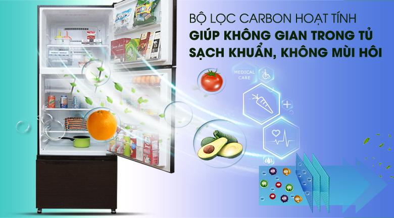 Bộ lọc Carbon - Tủ lạnh Mitsubishi Electric Inverter 414 lít MR-V50EH-BRW