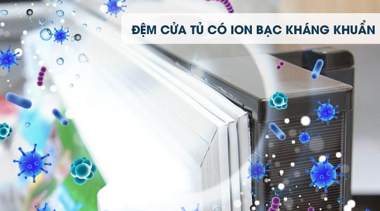 Đệm cửa Ion bạc kháng khuẩn - Tủ lạnh Mitsubishi Electric Inverter 414 lít MR-V50EH-BRW