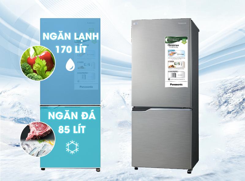 Tủ lạnh Panasonic NR-BV288QSVN 255 lít