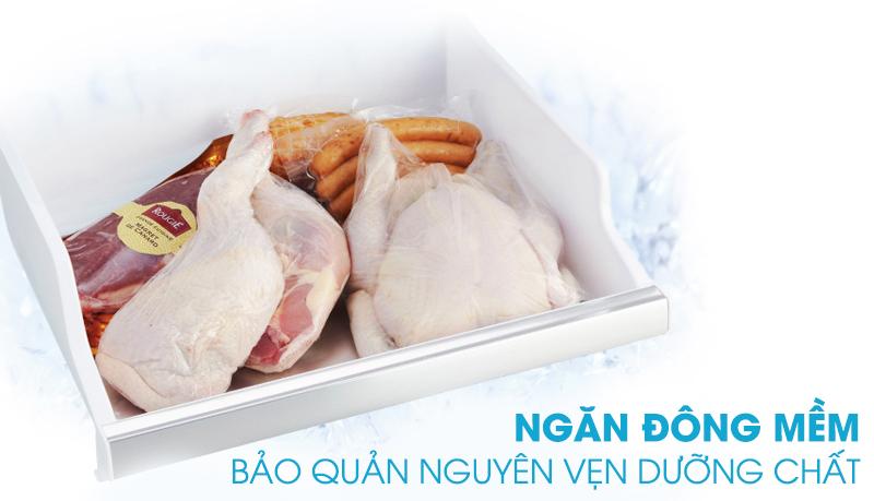 Ngăn đông mềm bảo quản nguyên vẹn dưỡng chất trong thực phẩm mà không cần rã đông