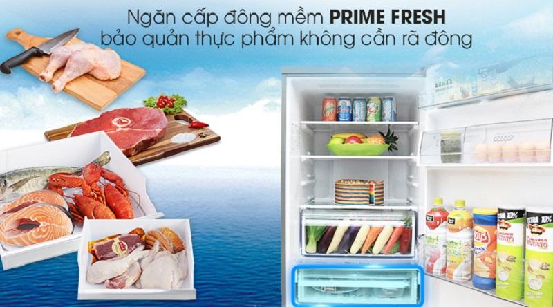 Bảo quản thực phẩm không cần rã đông với ngăn cấp đông mềm - Tủ lạnh Panasonic Inverter 290 lít NR-BV328XSVN