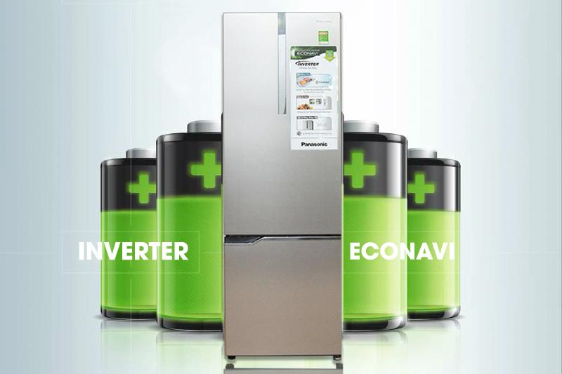 Công nghệ Inverter kết hợp cảm biến Econavi giúp tiết kiệm điện tối đa