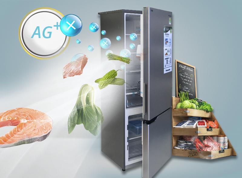 Khả năng kháng khuẩn và khử mùi nhờ công nghệ Ag Clean tiên tiến