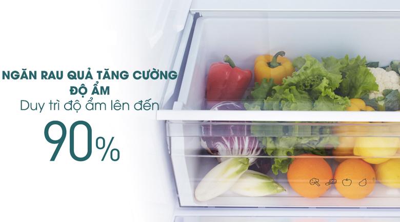 Ngăn rau củ - Tủ lạnh Panasonic Inverter 363 lít NR-BX418VSVN
