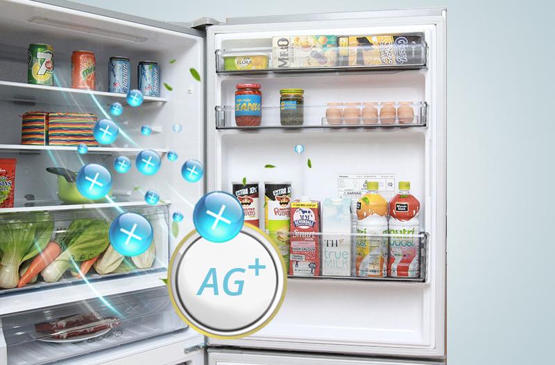 Công nghệ Ag Clean kháng khuẩn, khử mùi mạnh mẽ