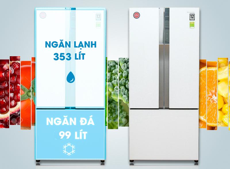 Tủ lạnh Panasonic NR-CY557GWVN