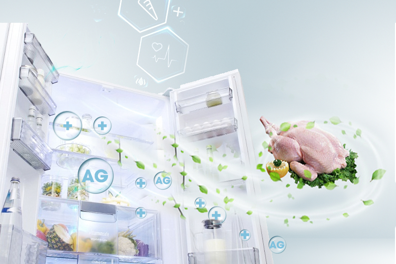 Kháng khuẩn khử mùi nhờ công nghệ Ag Clean hiện đại