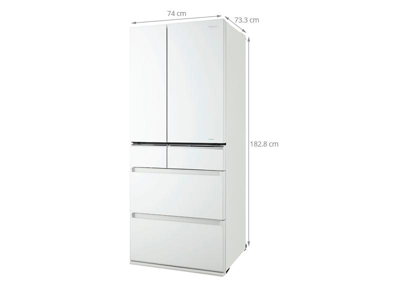 Thông số kỹ thuật Tủ lạnh Panasonic 588 lít NR-F610GT-W2