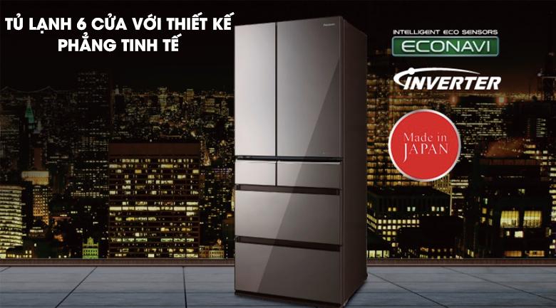 Tủ lạnh Panasonic Inverter 588 lít NR-F610GT-X2