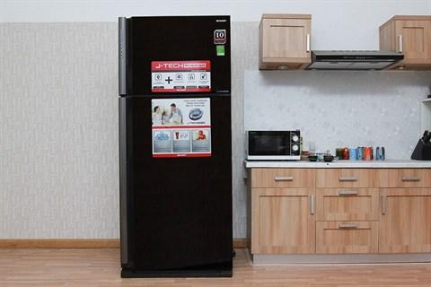 Tủ lạnh Sharp 627 lít SJ-XP630PG-BK