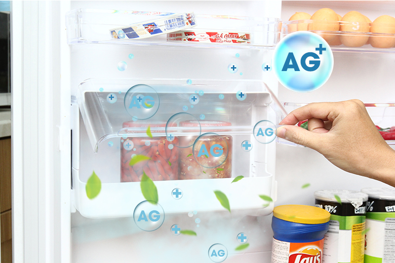 Hộp tiện ích có khả năng kháng khuẩn Ag+