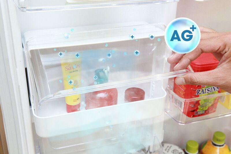 Tủ lạnh Toshiba GR-T46VUBZ N1 có hộp tiện ích với chất liệu Ag+