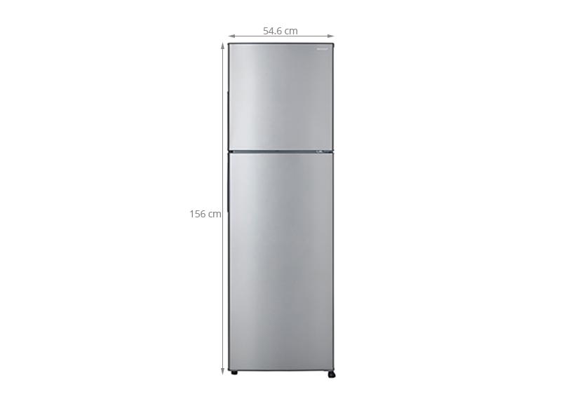 Thông số kỹ thuật Tủ lạnh Sharp 241 lít SJ-250E-SL