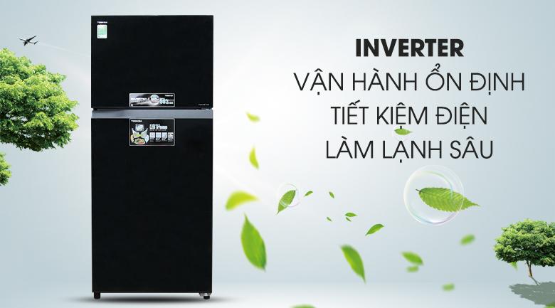 Inverter - Tủ lạnh Toshiba Inverter 359 lít GR-TG41VPDZ