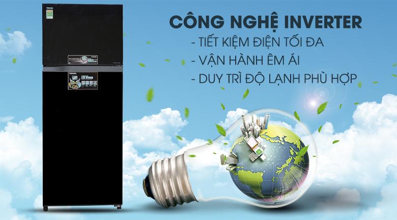 Tiết kiệm năng lượng sử dụng nhờ công nghệ Inverter - Dung tích