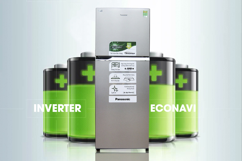 Tiết kiệm điện với Inverter và cảm biến Econavi
