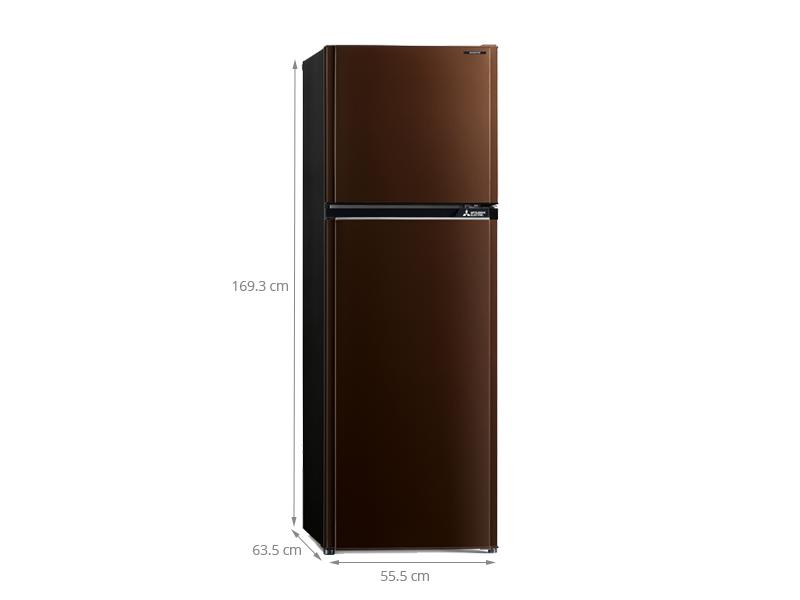 Thông số kỹ thuật Tủ lạnh Mitsubishi Electric MR-FV32EJ-BR-V