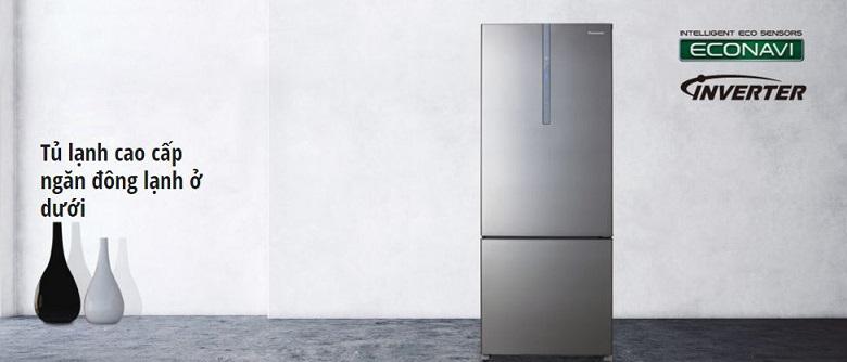 Phong cách tủ lạnh mới với ngăn kết đông ở đáy